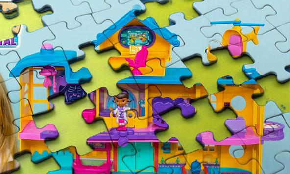 Super Doc Toy Jigsaw Puzzle screenshot 2