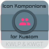 Icon Kompanions for KLWP/KWGT icon
