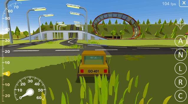 Driving simulator destructible apk screenshot