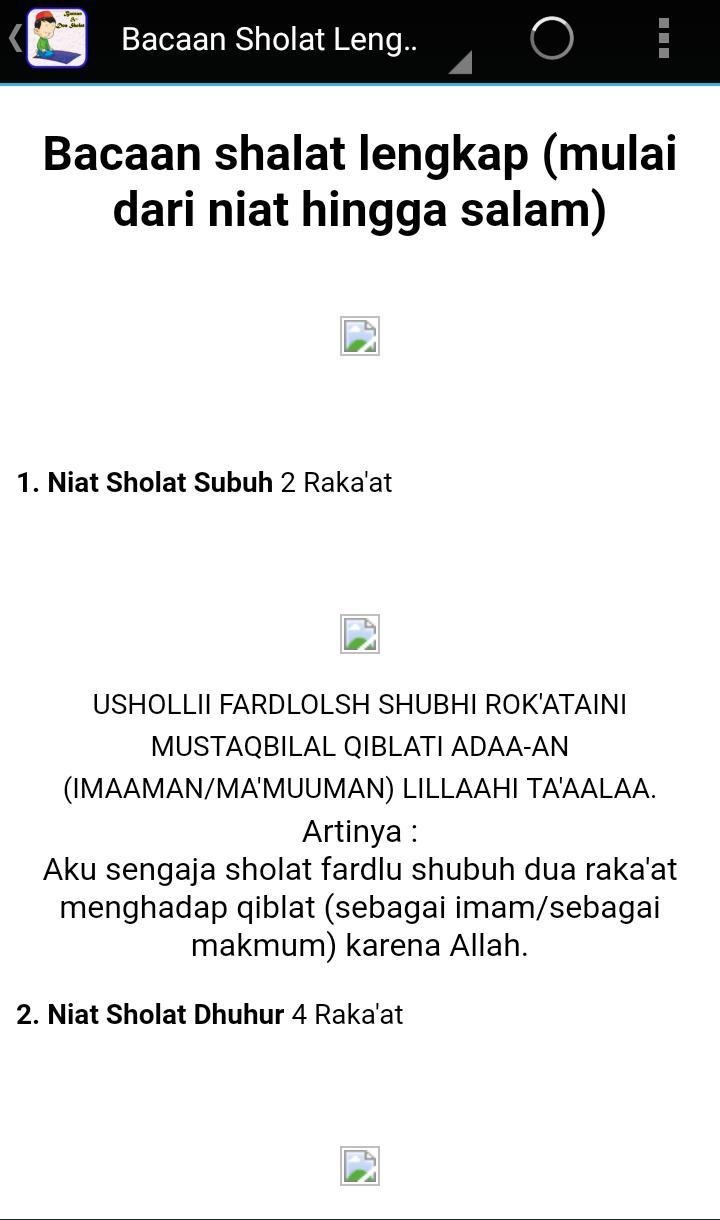 Doa Dan Bacaan Sholat Mp3 For Android Apk Download