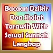 Bacaan Dzikir Doa Sholat Tarawih Witir Lengkap icon