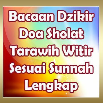 Bacaan Dzikir Doa Sholat Tarawih Witir Lengkap poster