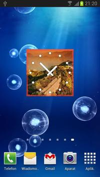 China Clock Widget poster