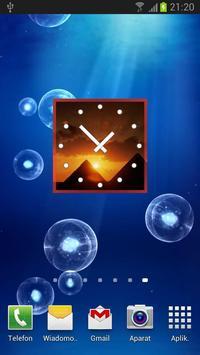 Egypt Clock Widget poster