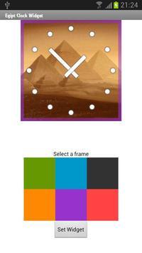 Egypt Clock Widget apk screenshot