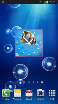 Fish Clock Widget poster