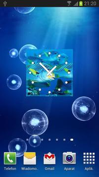 Fish Clock Widget screenshot 2