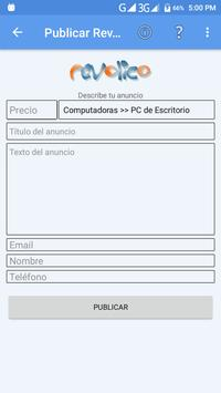 WebToMail screenshot 2