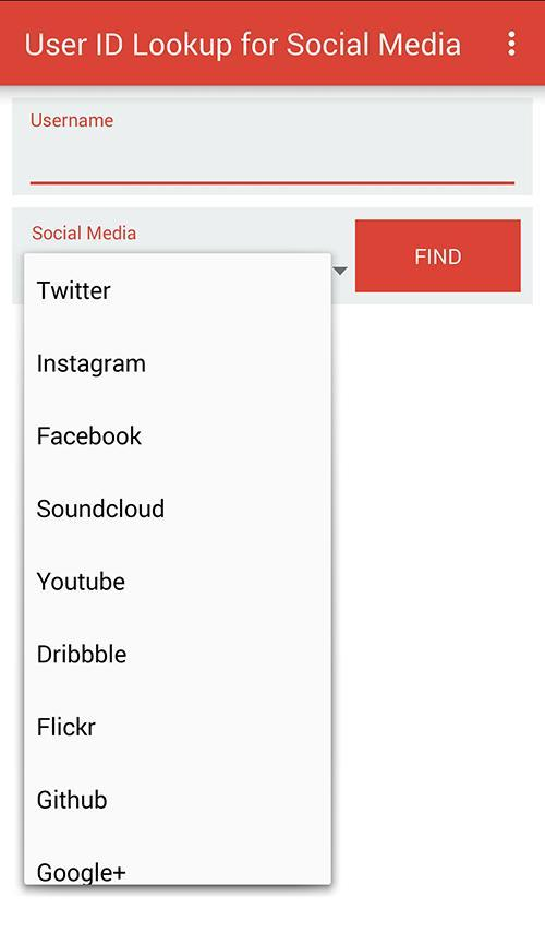 User ID Lookup for Social Media for Android - APK Download