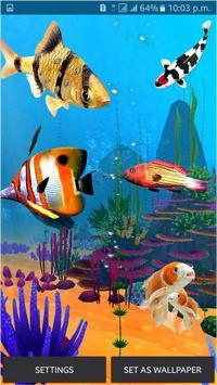 Fish Aquarium Live Wallpaper 3D Screensaver Free Screenshot 8