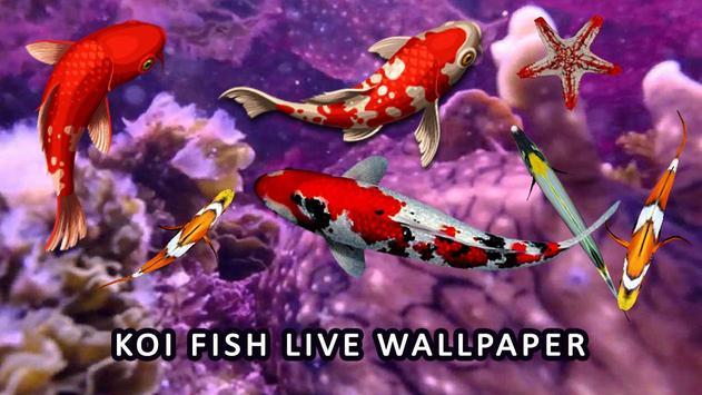 Koi fish wallpaper 3d water fish screensaver 3d for for Koi pond screensaver