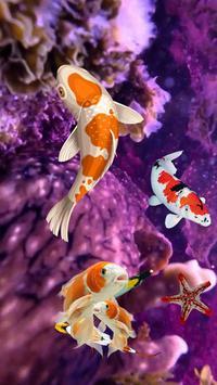 Koi Fish Wallpaper 3D