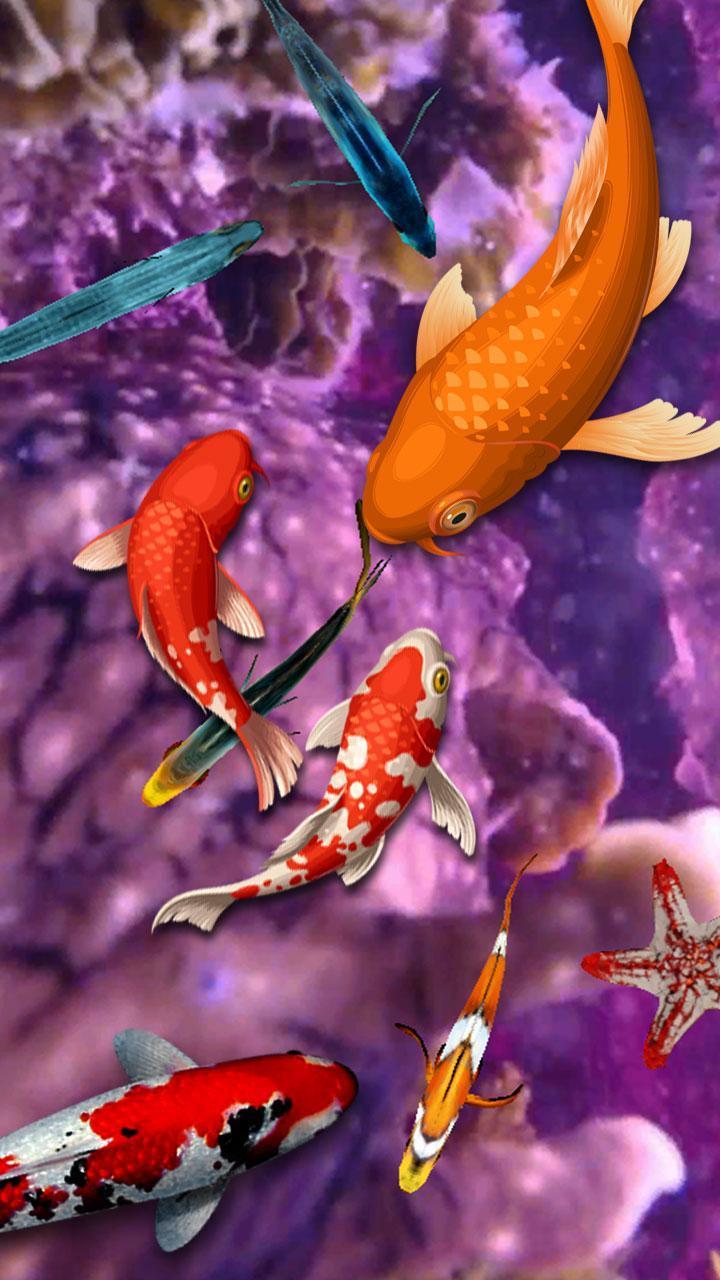 Koi Fish Wallpaper 3d Water Fish Screensaver 3d For Android Apk Download