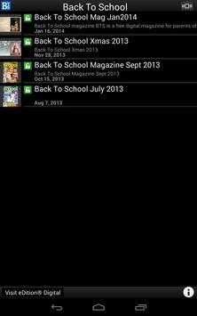 Back To School apk screenshot