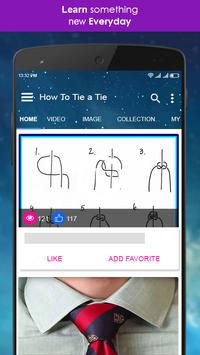 How to tie a tie video tutorial for android apk download how to tie a tie video tutorial screenshot 1 ccuart Choice Image