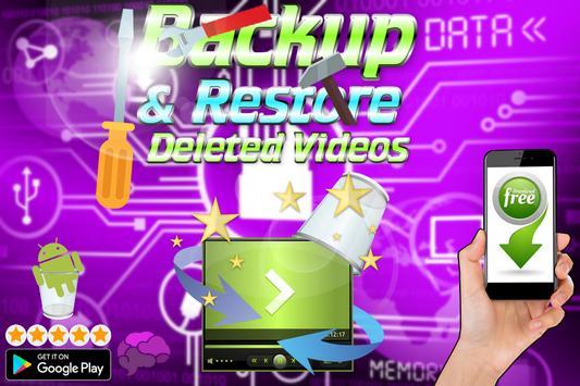 Backup & Restore Deleted Videos screenshot 9