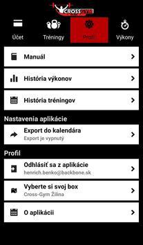 CrossGym screenshot 1