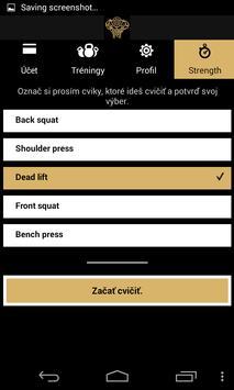 Gold Gym screenshot 3