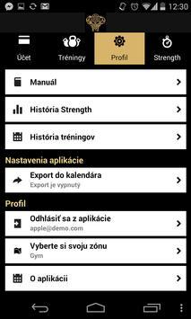 Gold Gym screenshot 1