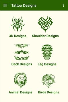 Tattoo Designs poster