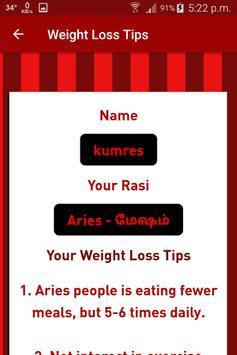 Weight Loss Tips screenshot 1