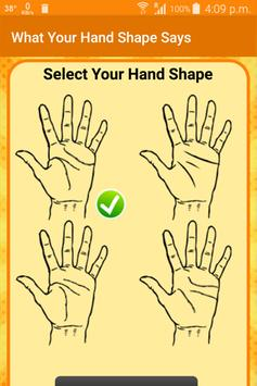 What Your Hand Shape Says screenshot 1