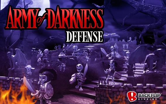 Army of Darkness Defense poster