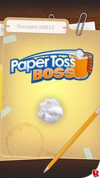 Paper Toss Cartaz