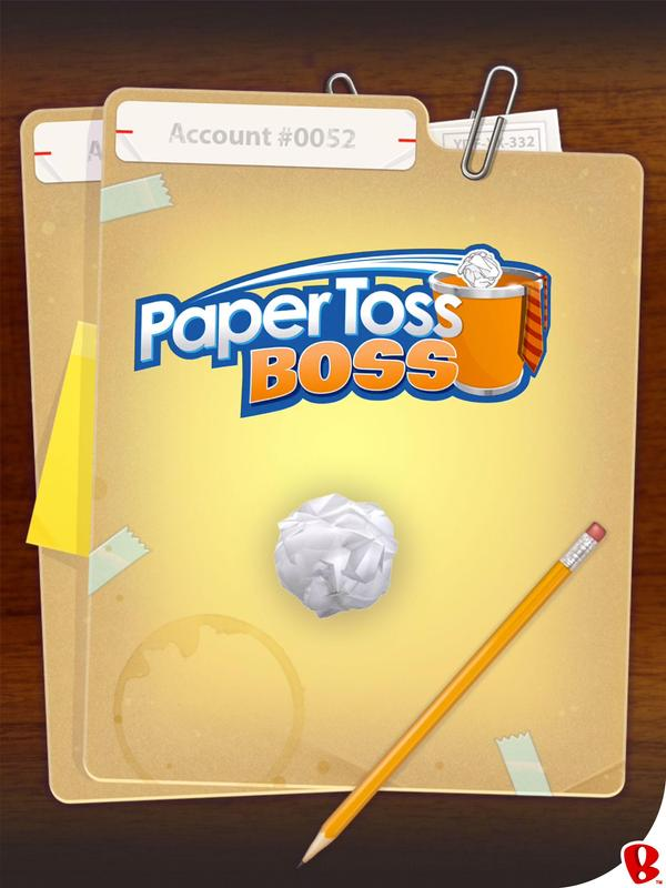 Paper toss for android download apk free.