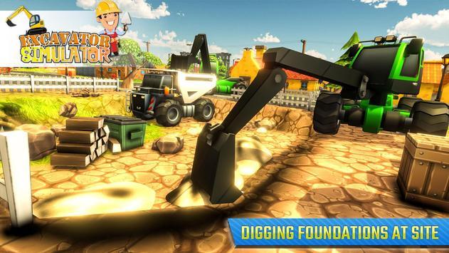 Real Excavator Simulator screenshot 9