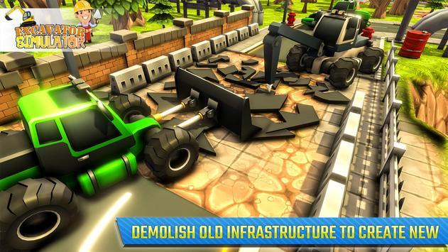 Real Excavator Simulator screenshot 12