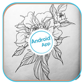 Flower Tattoo Design icon