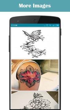 Flower Tattoo Design poster