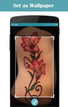 Flower Tattoo Design screenshot 2