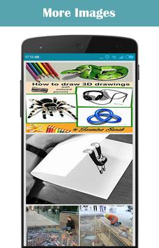 How to Draw 3D and Illusions screenshot 1