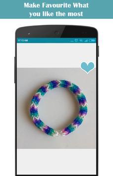 Rubber Band Bracelets Ideas screenshot 1