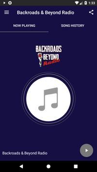 Backroads & Beyond Radio poster