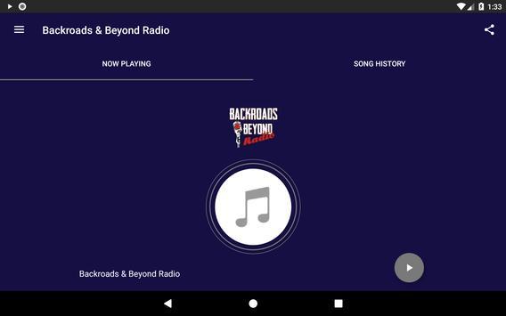 Backroads & Beyond Radio screenshot 2