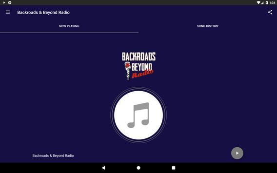 Backroads & Beyond Radio screenshot 4