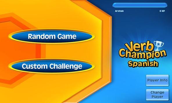 Verb Champion: Spanish apk screenshot