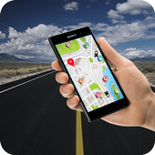 GPS Route Finder 2018 GPS Tracker: GPS Navigation icon