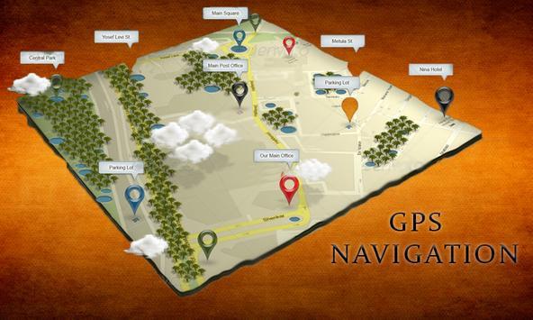 GPS Route Finder 2018 GPS Tracker: GPS Navigation poster
