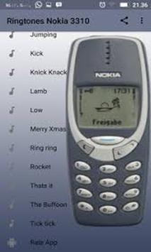 Nokia 3310 Ringtones screenshot 1