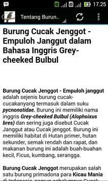 Kicau Cucak Jenggot Master apk screenshot