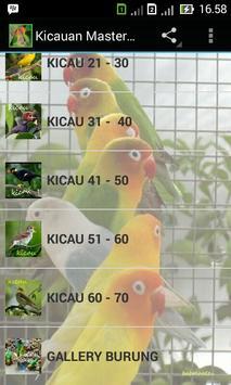 Kicau Kacer screenshot 1