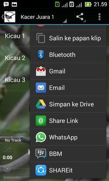Kicau Kacer Juara apk screenshot