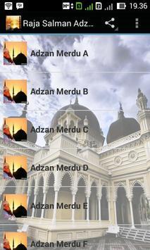 Raja Salman Adzan Merdu poster