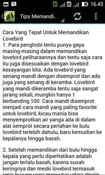 Terapi Lovebird Master screenshot 4
