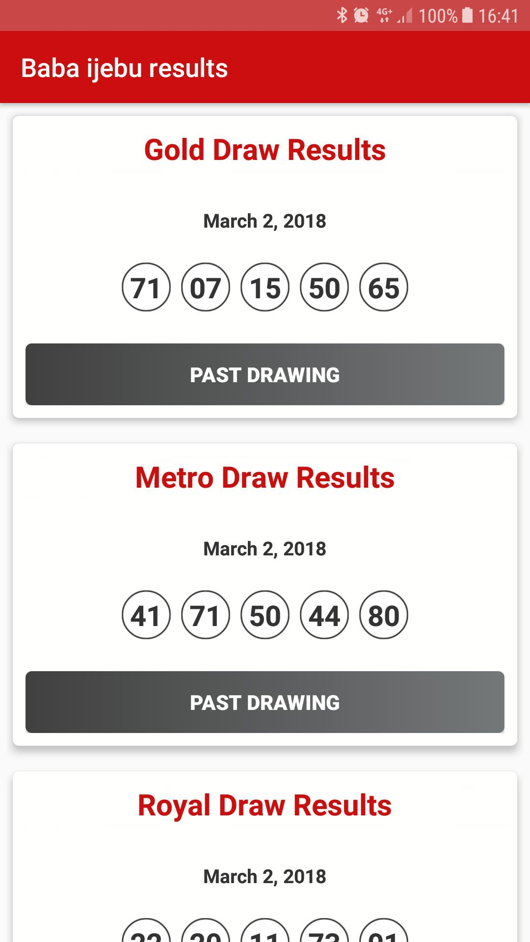 Baba Ijebu Lotto Results for Android - APK Download