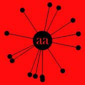 needle dot aa icon